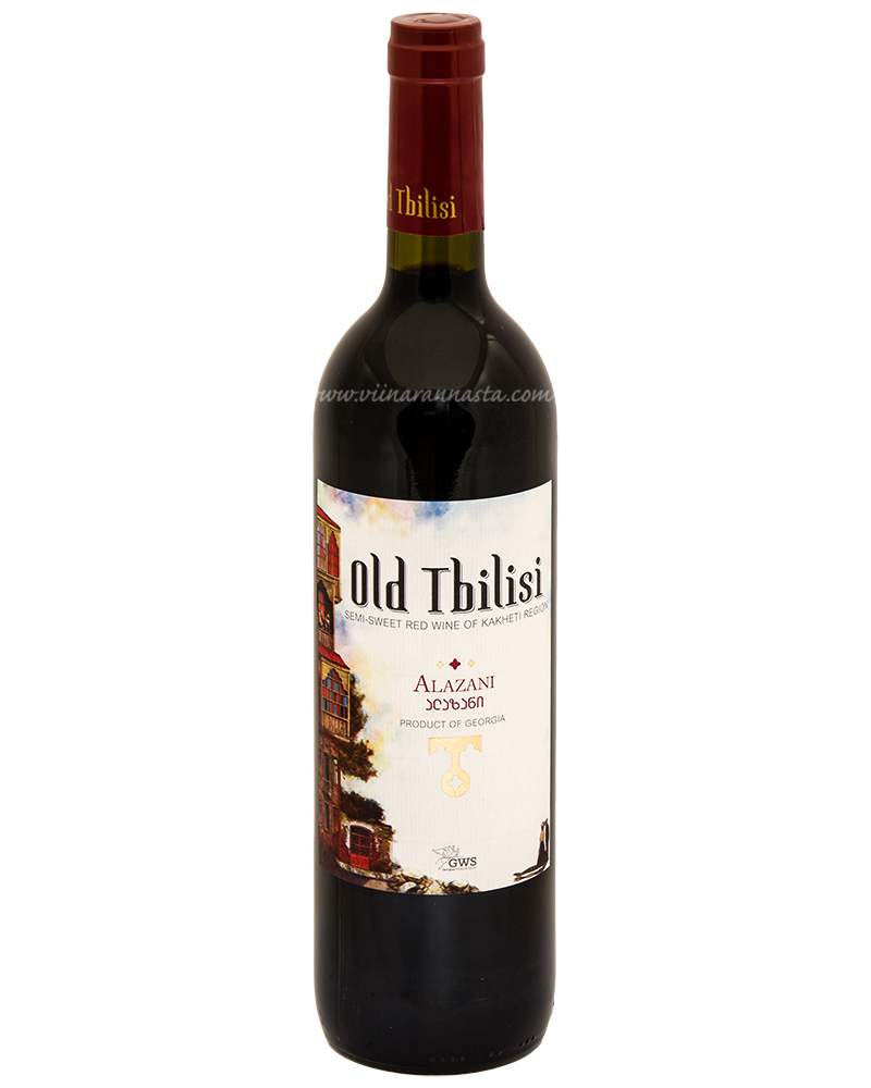Old Tbilisi Alazani Semi-Sweet Red 12,5% 75cl