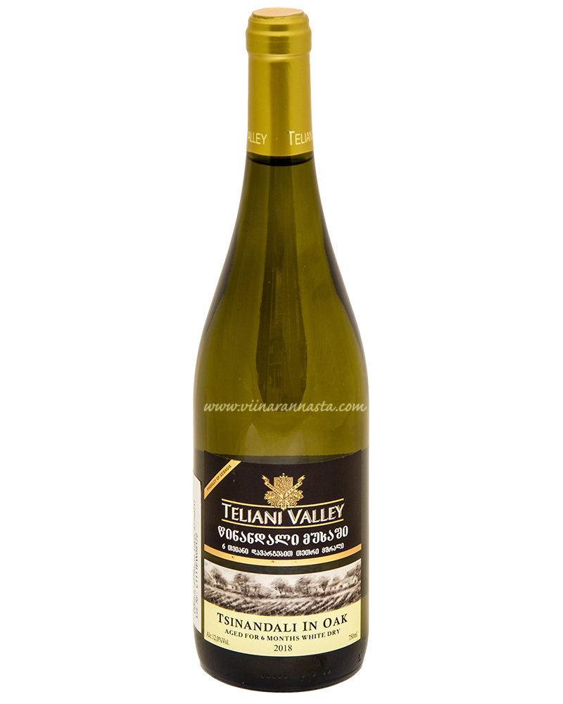 Teliani Valley Tsinandali In Oak White Dry 12% 75cl