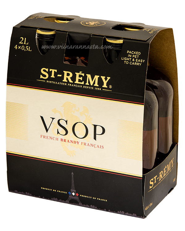 St.Remy Authentic VSOP 36% 4x50cl