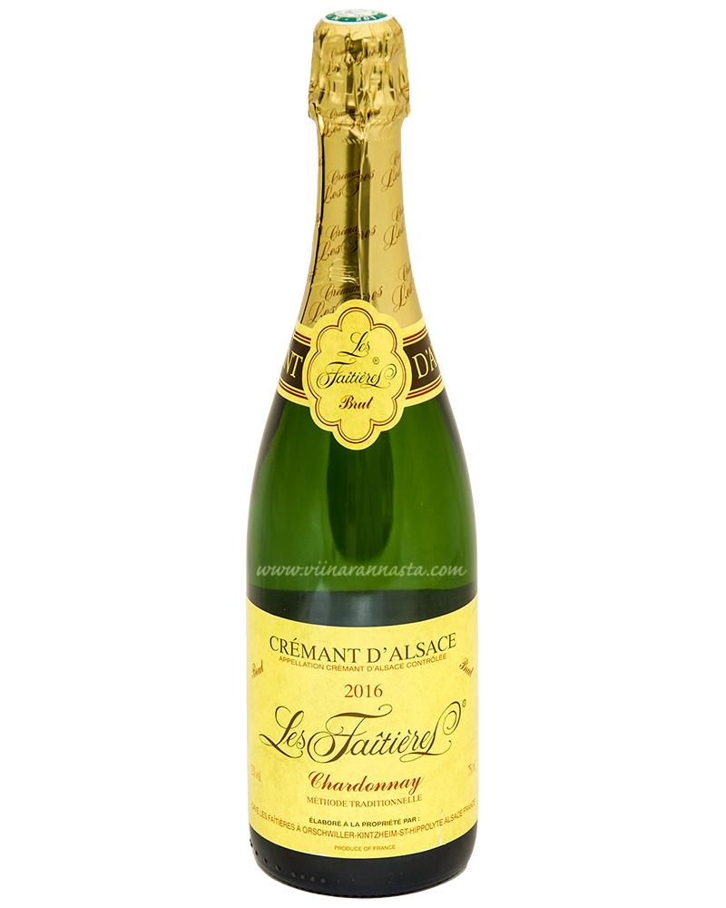 Cave Les Orschwiller Alsace Cremant Chardonnay 12% 75cl