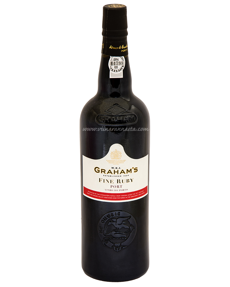Grahams Fine Ruby Port 19% 75cl