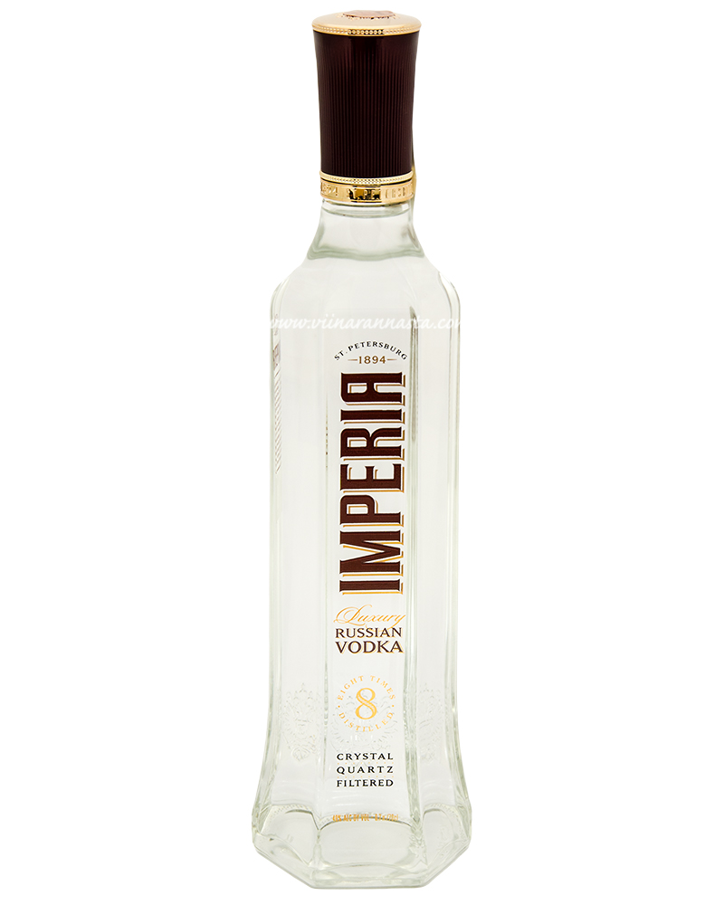 Luxury Russian Vodka Imperia  40% 70cl