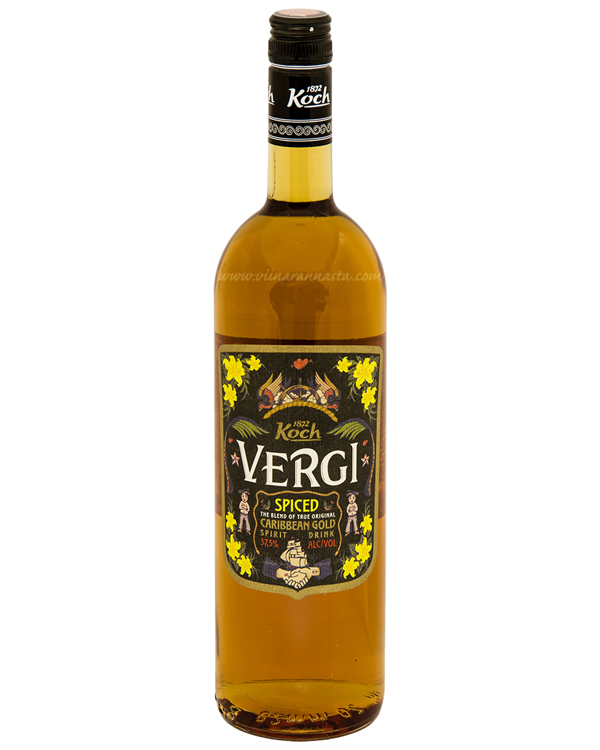 Vergi Spiced Caribbean Gold 37,5% 100cl