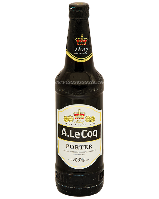 A.Le Coq Porter 6,5% 50cl