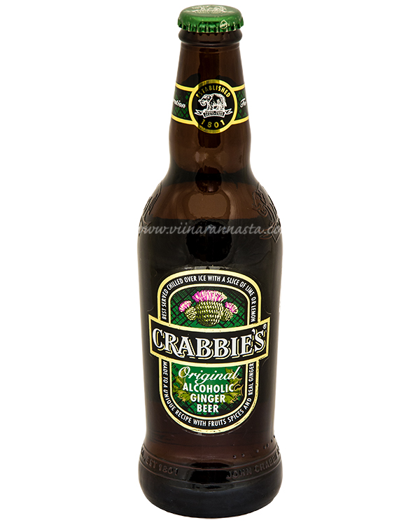 Crabbies Original Alcoholic Ginger Beer 4% 33cl