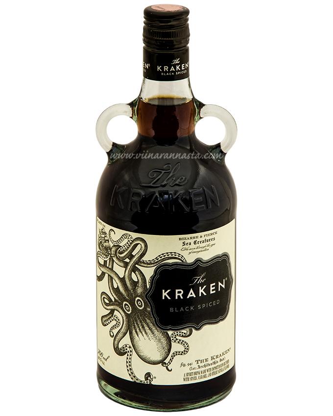 Kraken Black Spiced 40% 70cl