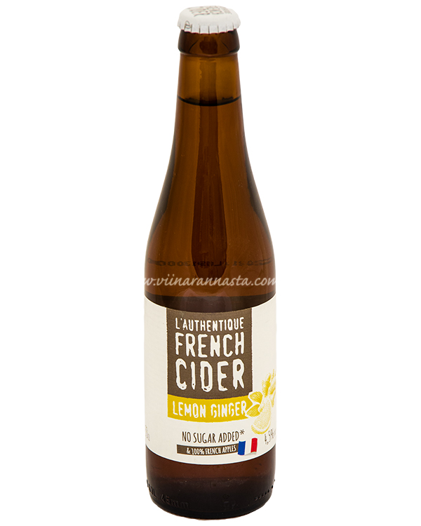 Val de France French Cider Ginger Lemon 4,5% 33cl