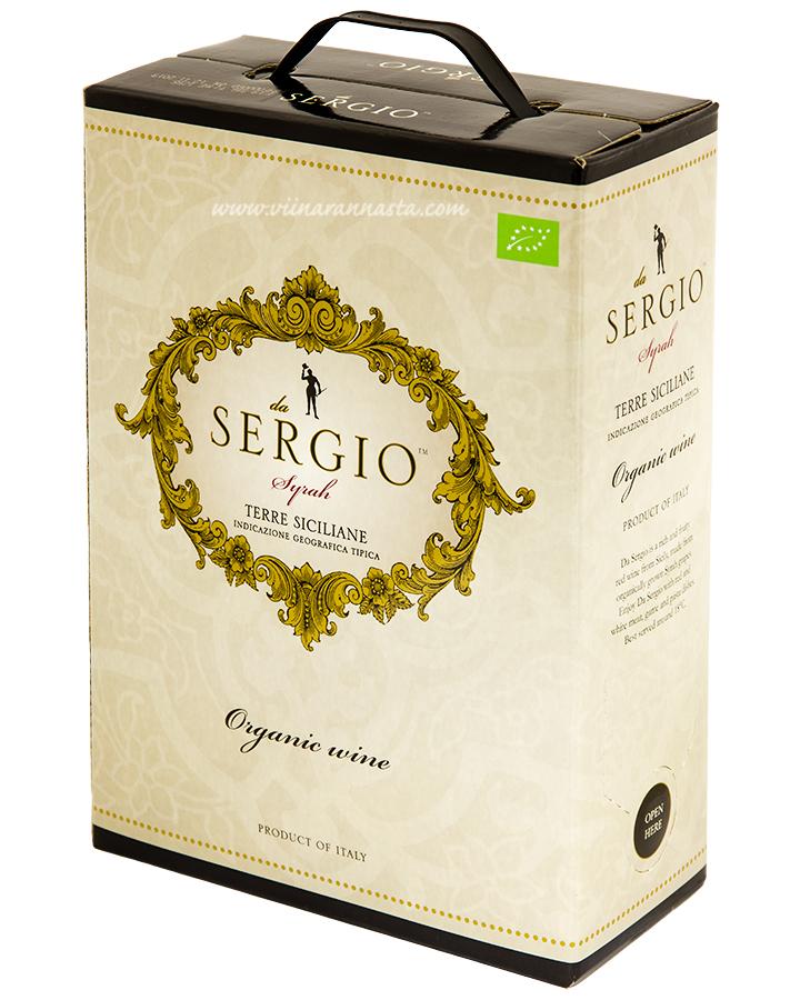Da Sergio Syrah Organic 14,5% 300cl BIB