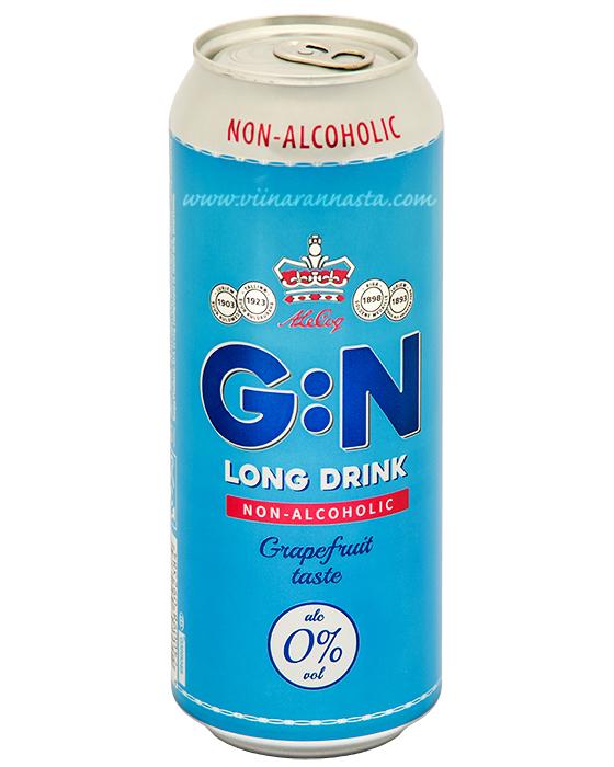 A.Le.Coq G:N Grapefruit 0% Alkoholivaba 50cl TIN