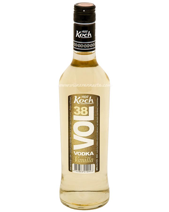 Koch Vol 38 Vodka Vanilla 38% 50cl