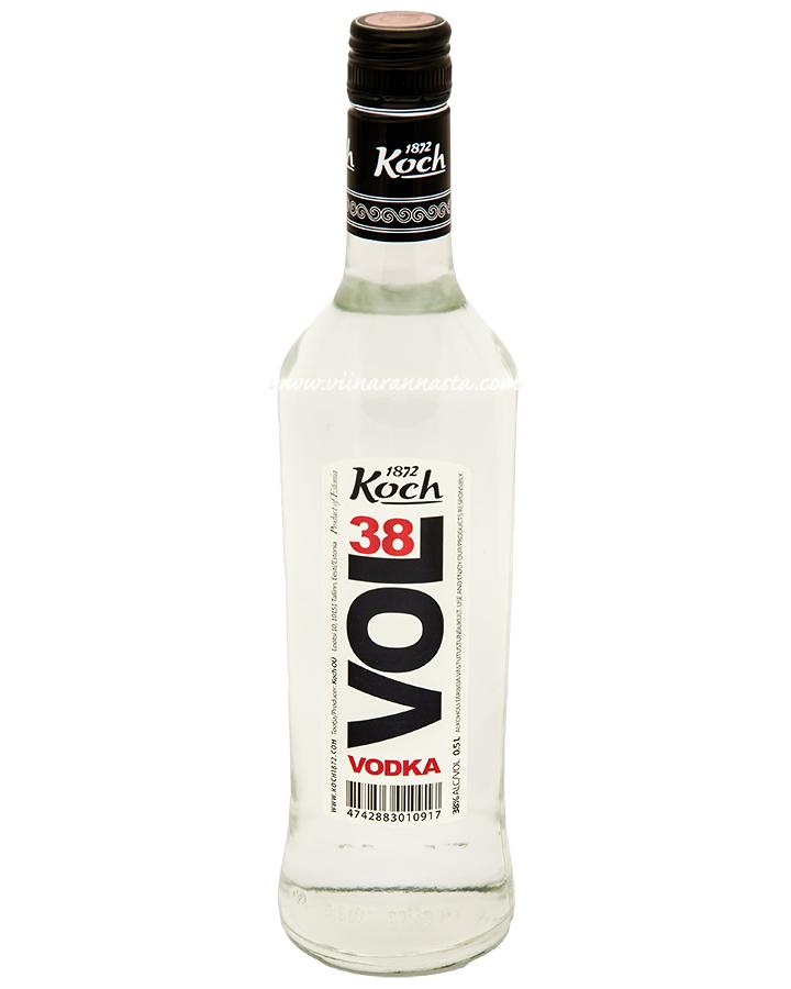 Koch Vol 38 Vodka 38% 50cl