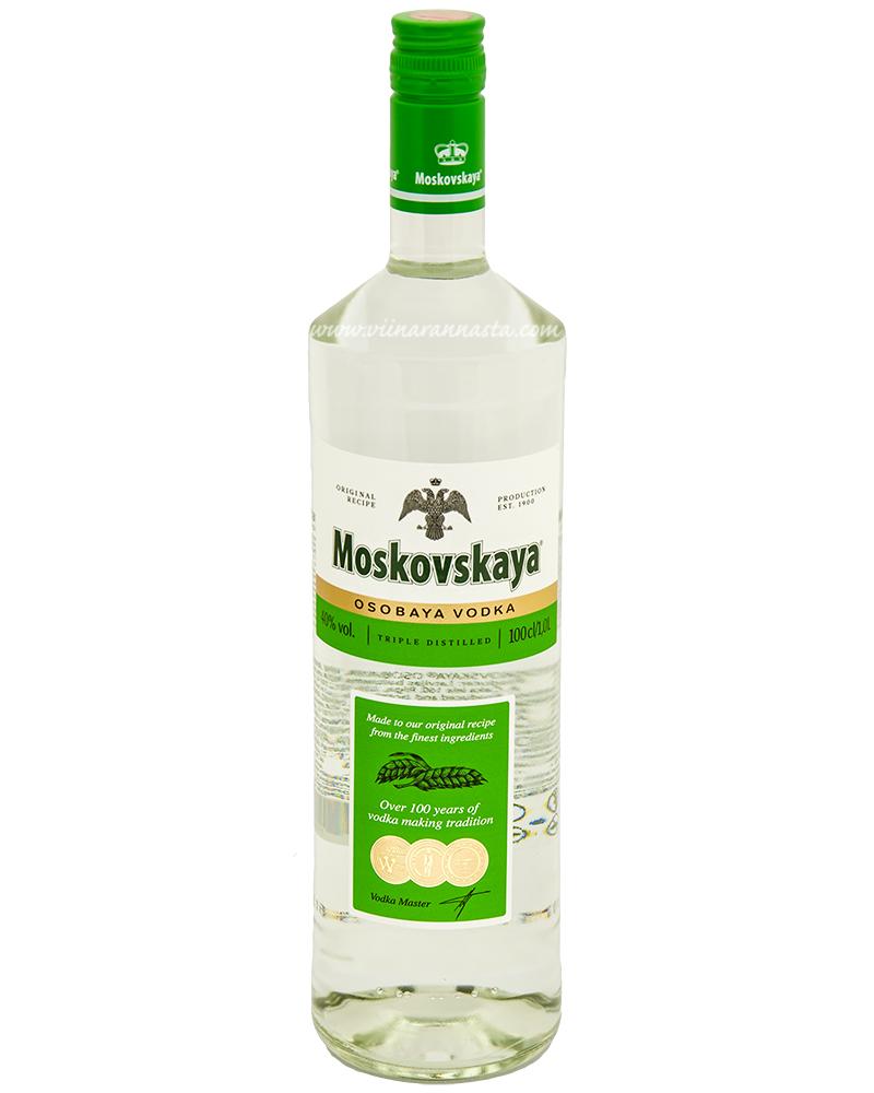 Moskovskaya Osobaya Vodka 40% 100cl