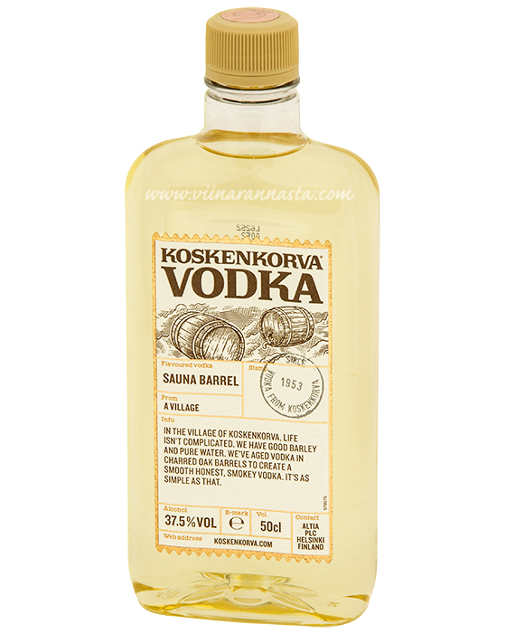 Koskenkorva Sauna Barrell 37,5% 50cl PET