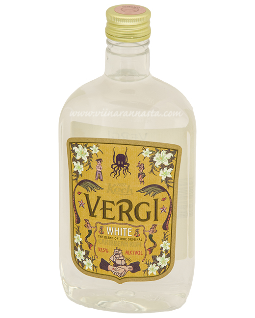 Vergi White Caribbean Rum 37,5% 50cl PET