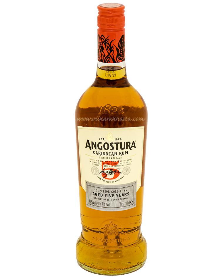 Angostura 5YO Gold Rum 40% 70cl
