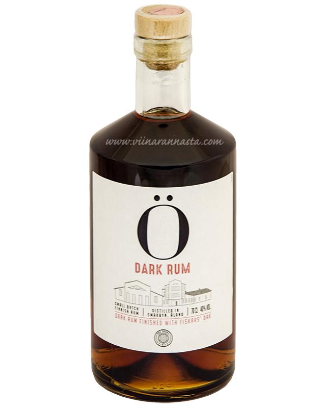 Ö Dark Rum 40% 70cl