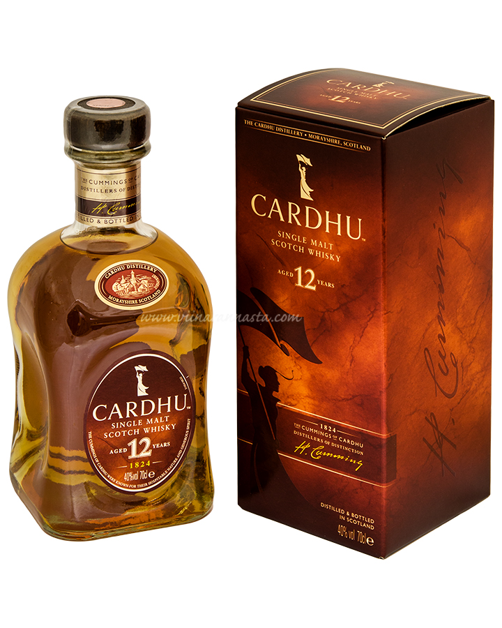 Cardhu Single Malt 12YO 40% 70cl