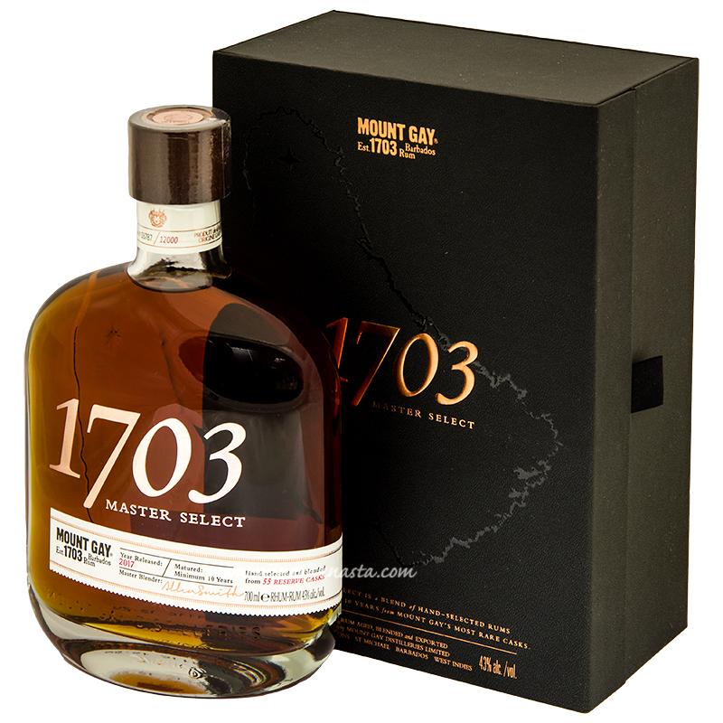 Mount Gay Rum 1703 43% 70cl