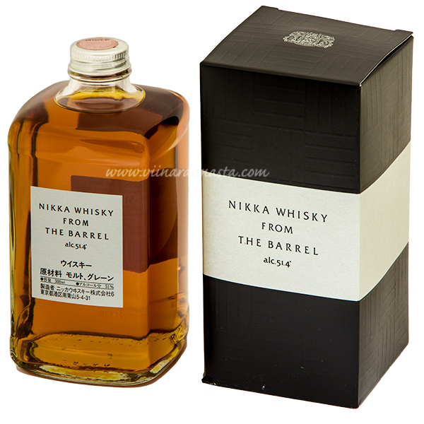 Nikka from The Barrel 51,4% 50cl