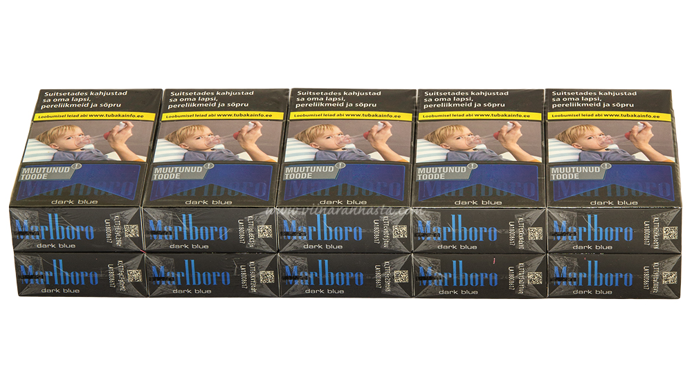 Marlboro Dark Blue Carton