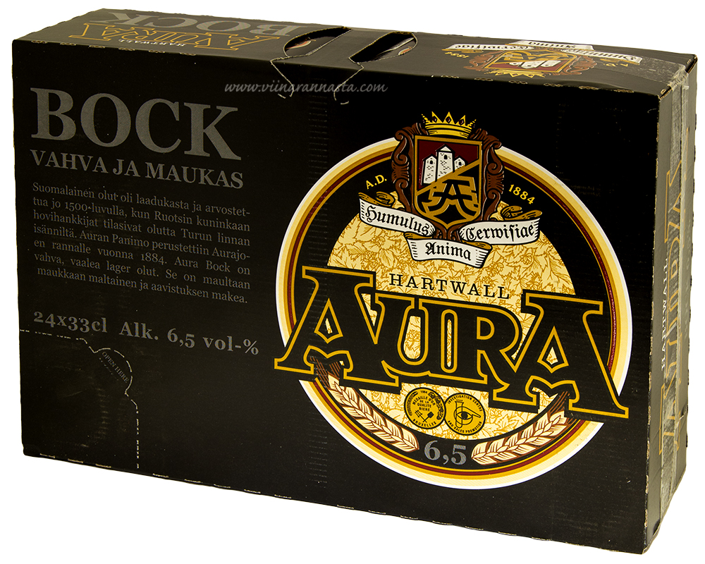 Hartwall Aura Bock 6,5% 24x33cl