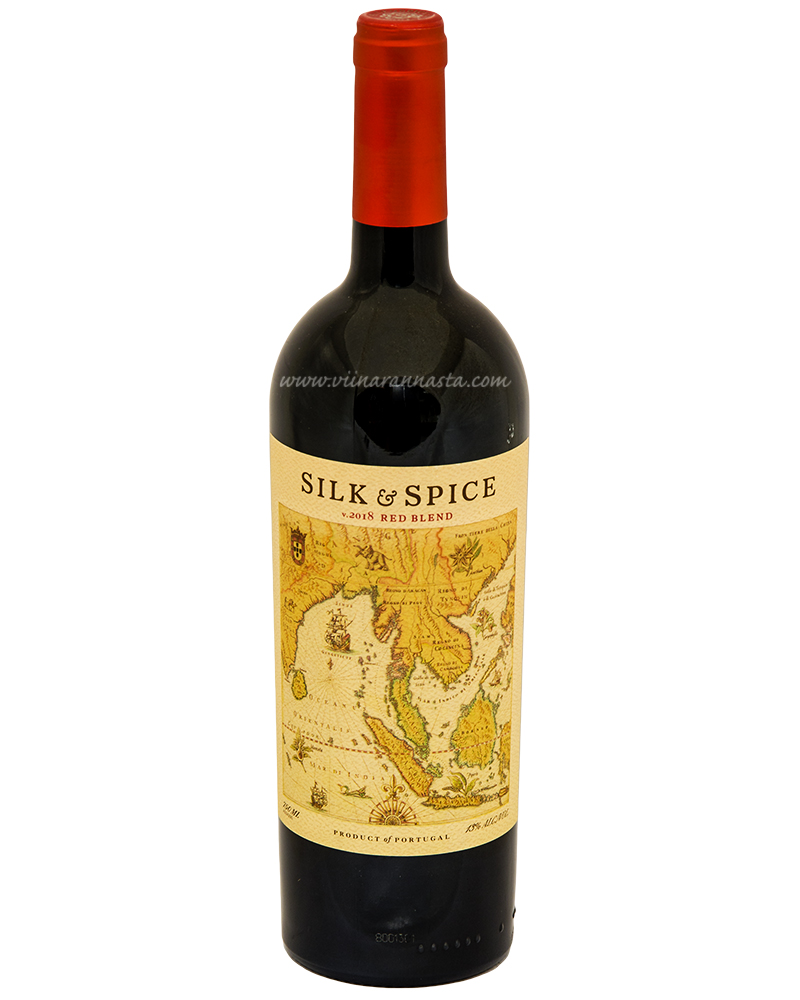 Silk & Spice Red Blend 13% 75cl