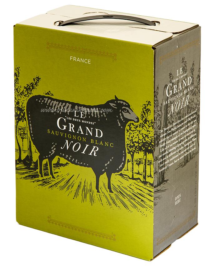 Le Grand Noir Sauvignon Blanc 12,5% 300cl BIB