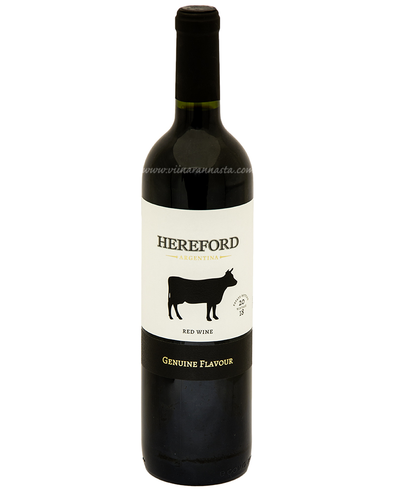 Hereford Red Wine 13% 75cl
