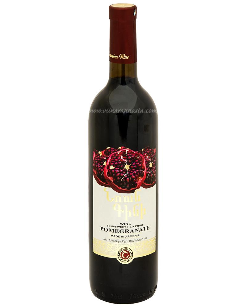 Shahnazaryan Pomegranate Semi-Sweet Red 12,5% 75cl