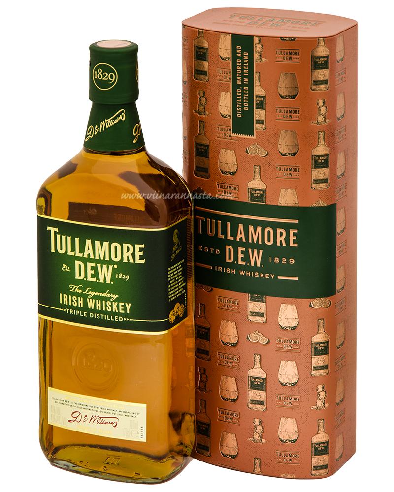 Tullamore Dew 40% 70cl TIN TUBE
