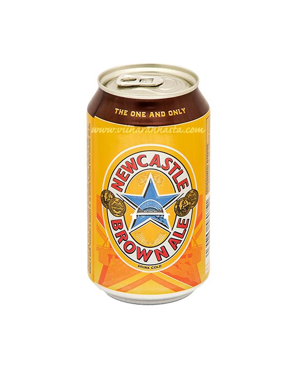 Newcastle Brown Ale 4,7% 33cl TIN