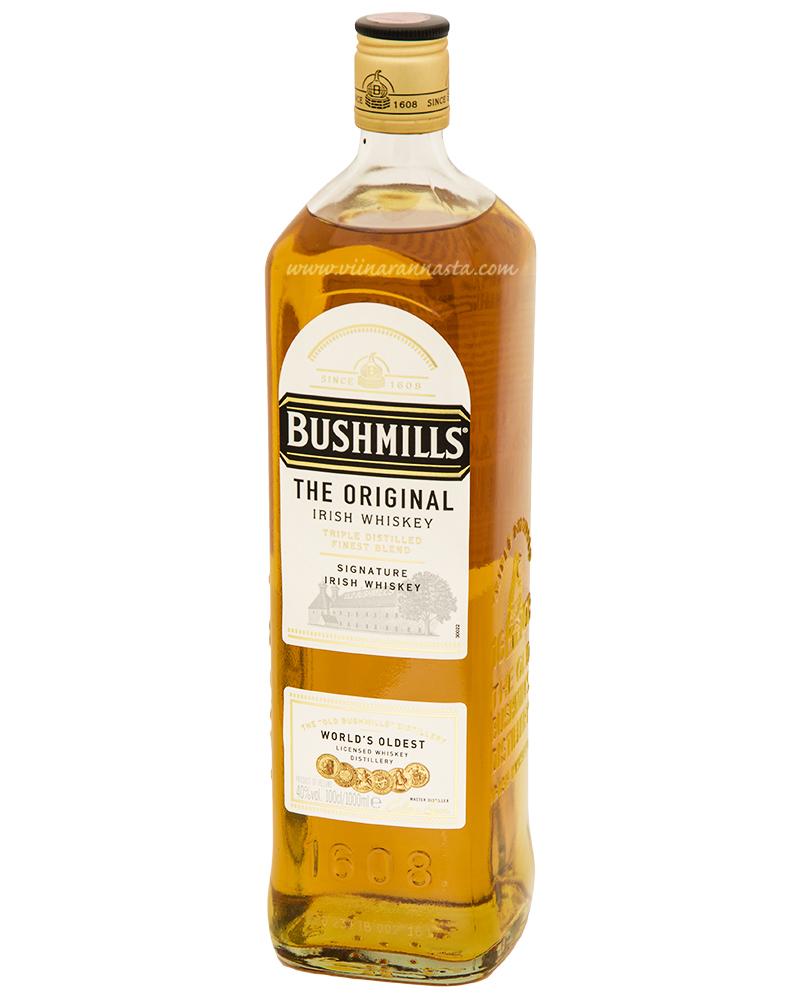 Bushmills Irish Whiskey 40% 100cl