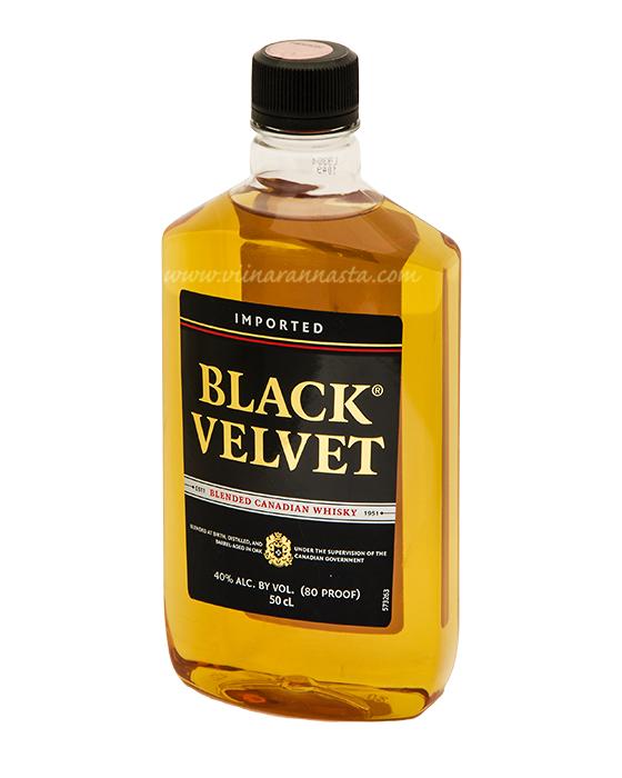 Black Velvet 40% 50cl PET