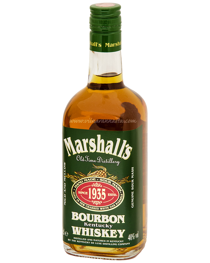 Marshalls Bourbon Whisky 40% 70cl
