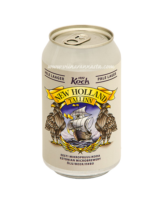 Koch New Holland Pale Lager 5% 33cl TIN