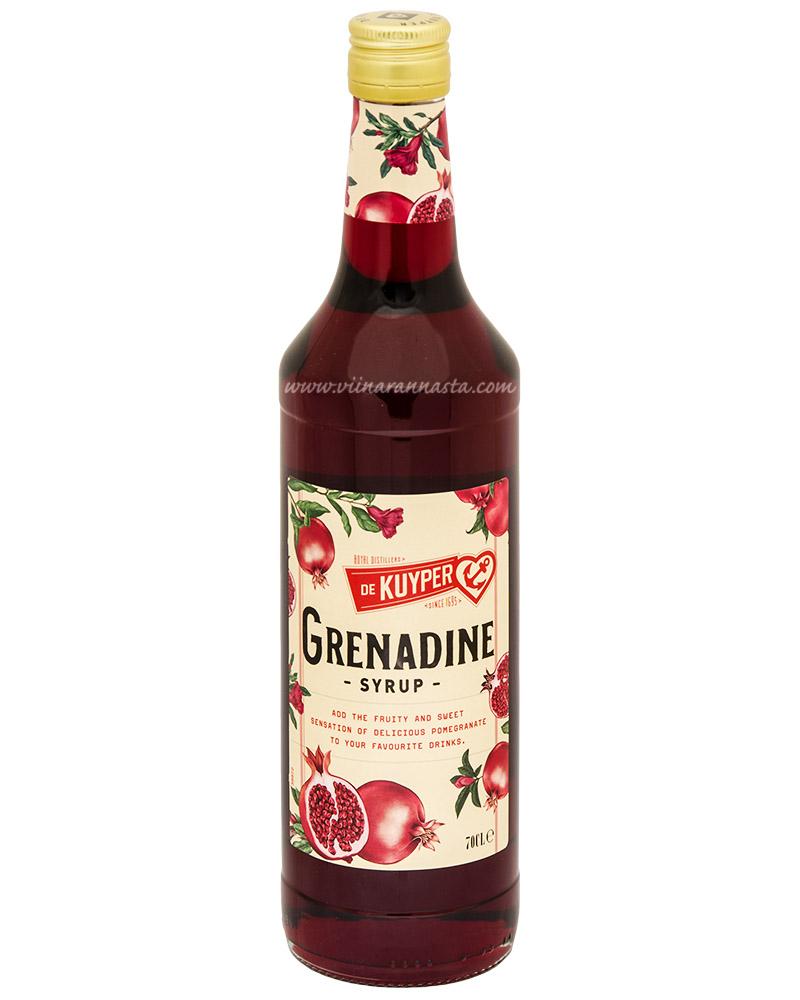 De Kuyper Grenadine Cocktail Syrup 70cl