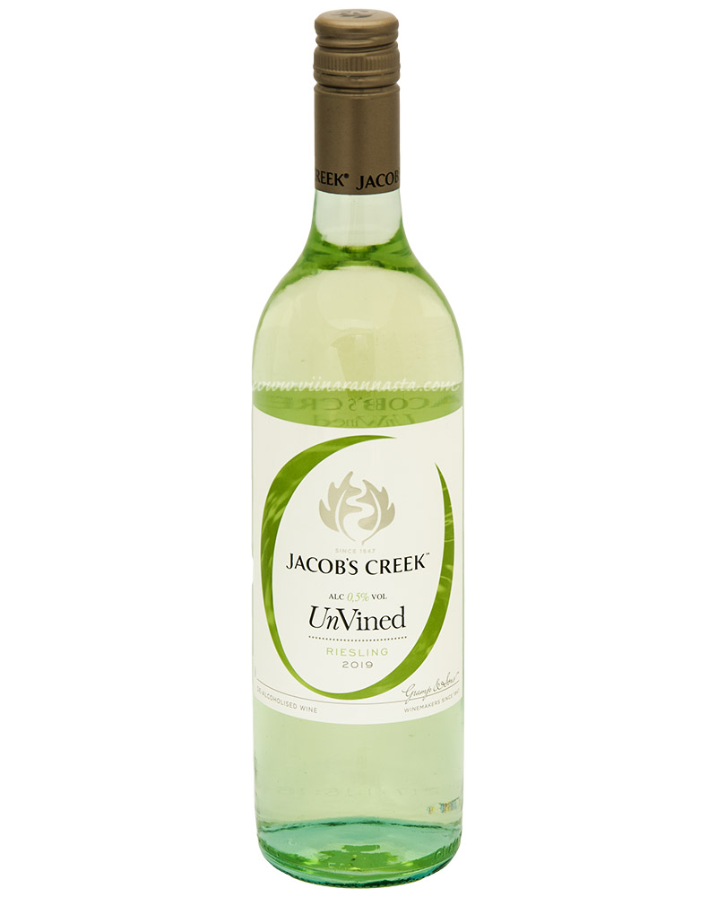 Jacobs Creek UnVined Riesling 0,5% 75cl