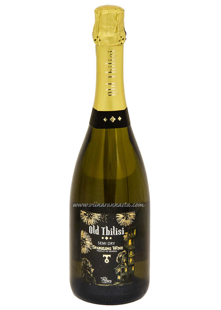 Old Tbilisi Sparkling Semi Dry 12% 75cl
