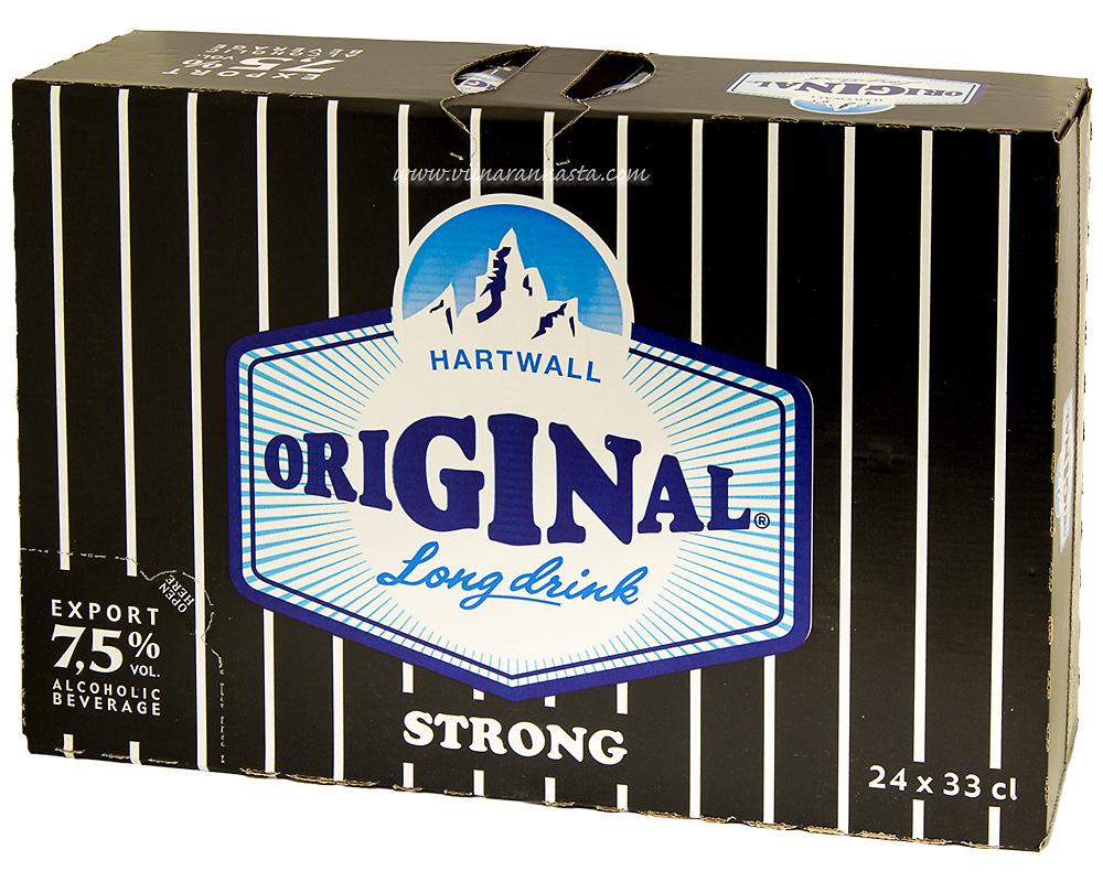 Hartwall Original Long Drink Strong 7,5% 24x33cl