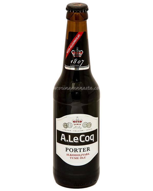 A. Le Coq Porter Non-Alcoholic 33cl