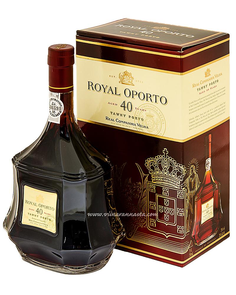 Royal Oporto 40YO Tawny Porto 20% 75cl