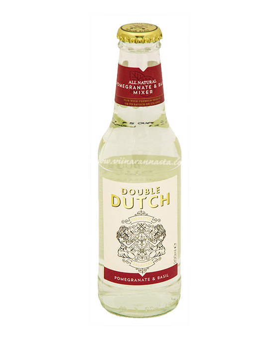 Double Dutch Pomegranate&Basil Tonic Water 20cl