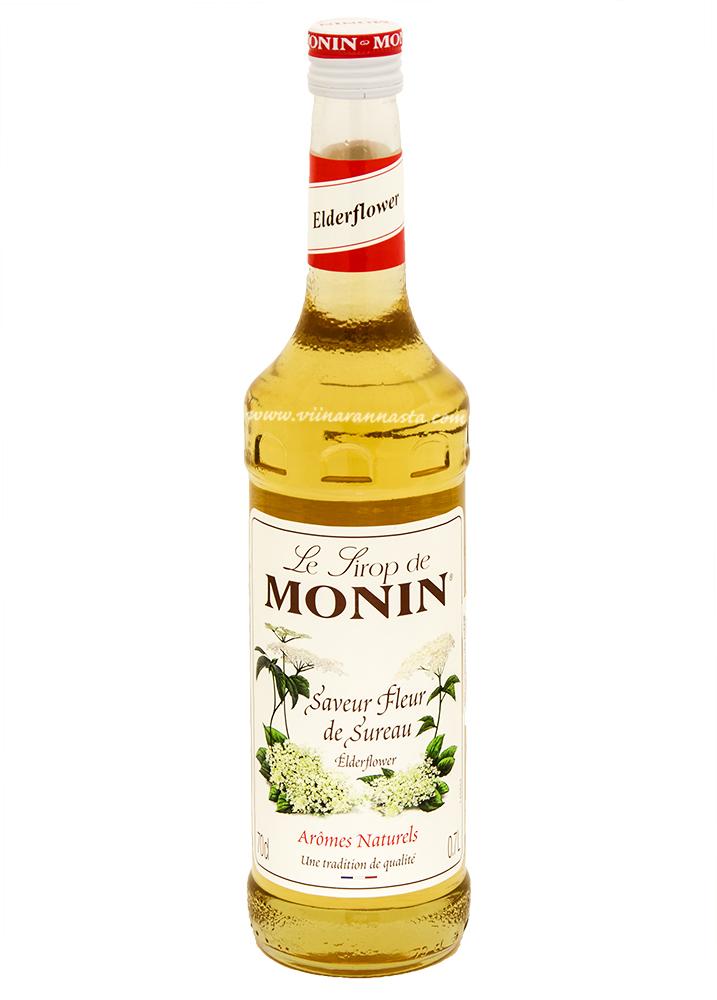 Monin Elderflower Cocktail Syrup 70cl