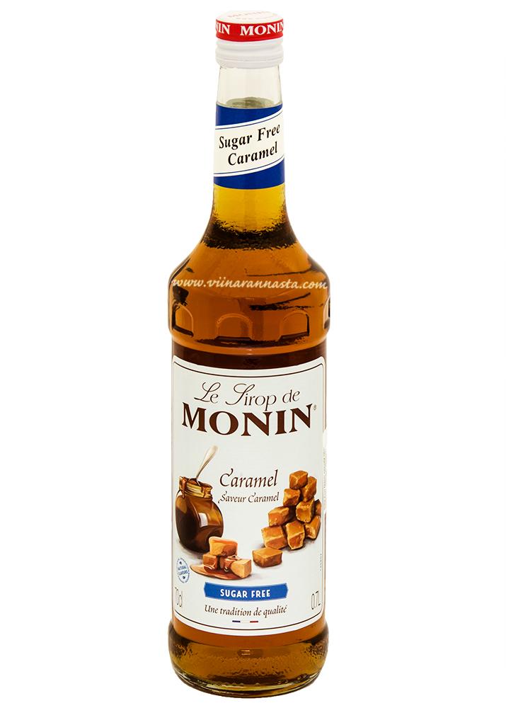 Monin Caramel Sugar Free Cocktail Syrup 70cl