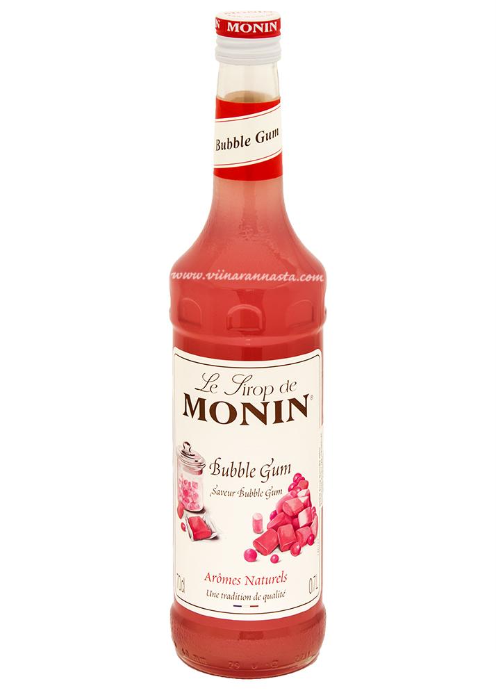 Monin Bubble Gum Cocktail Syrup 70cl