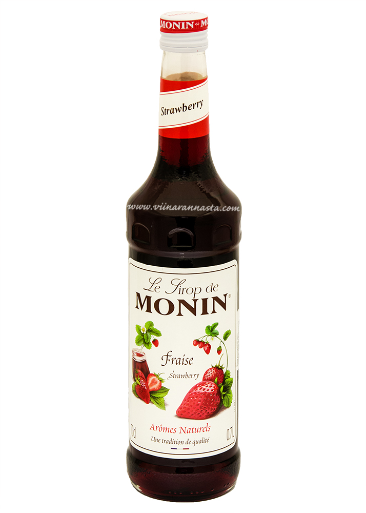 Monin Strawberry Cocktail Syrup 70cl