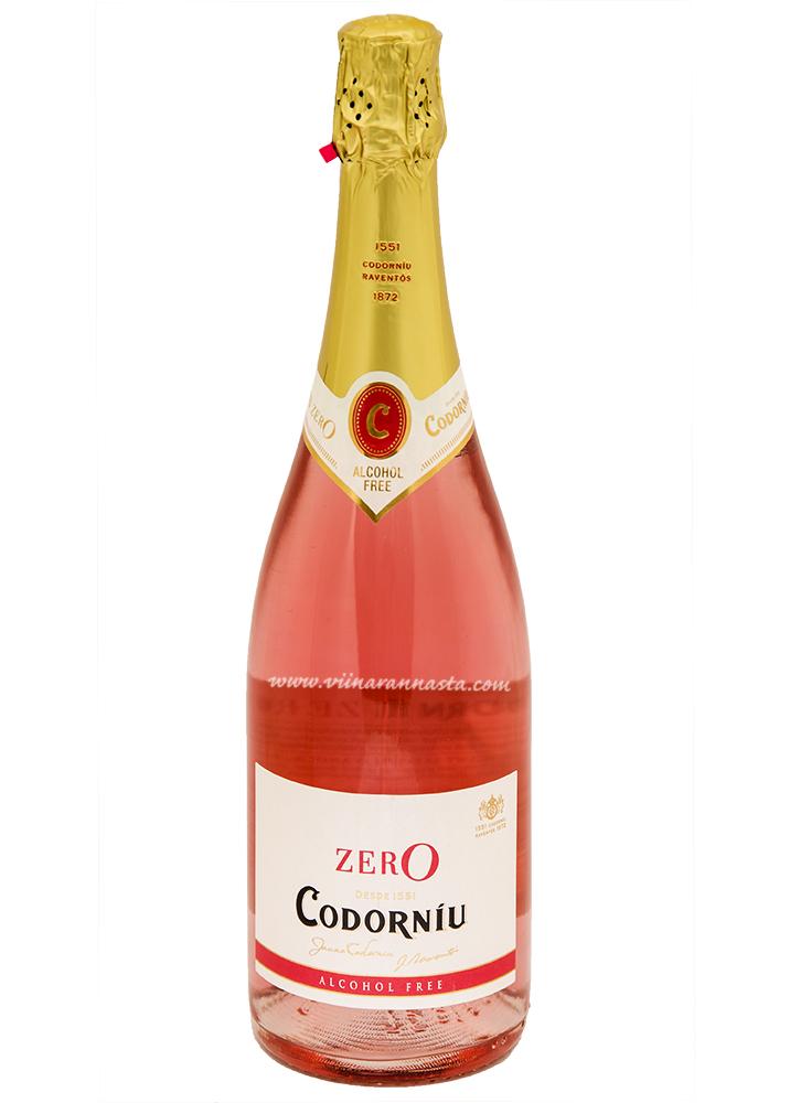 Codorniu Zero Rose Alcohol Free 75cl
