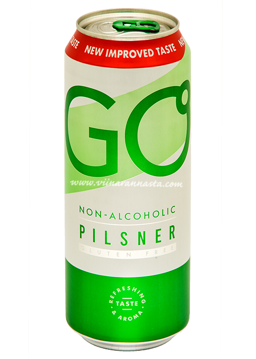 Saku GO Pilsner Non-Alcoholic 50cl TIN