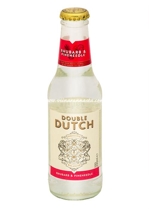 Double Dutch Rhubarb&Pineneedle Tonic Water 20cl