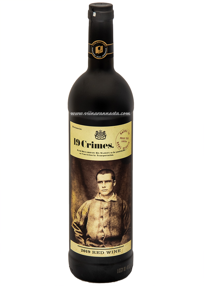 19 Crimes Red Wine 14% 75cl